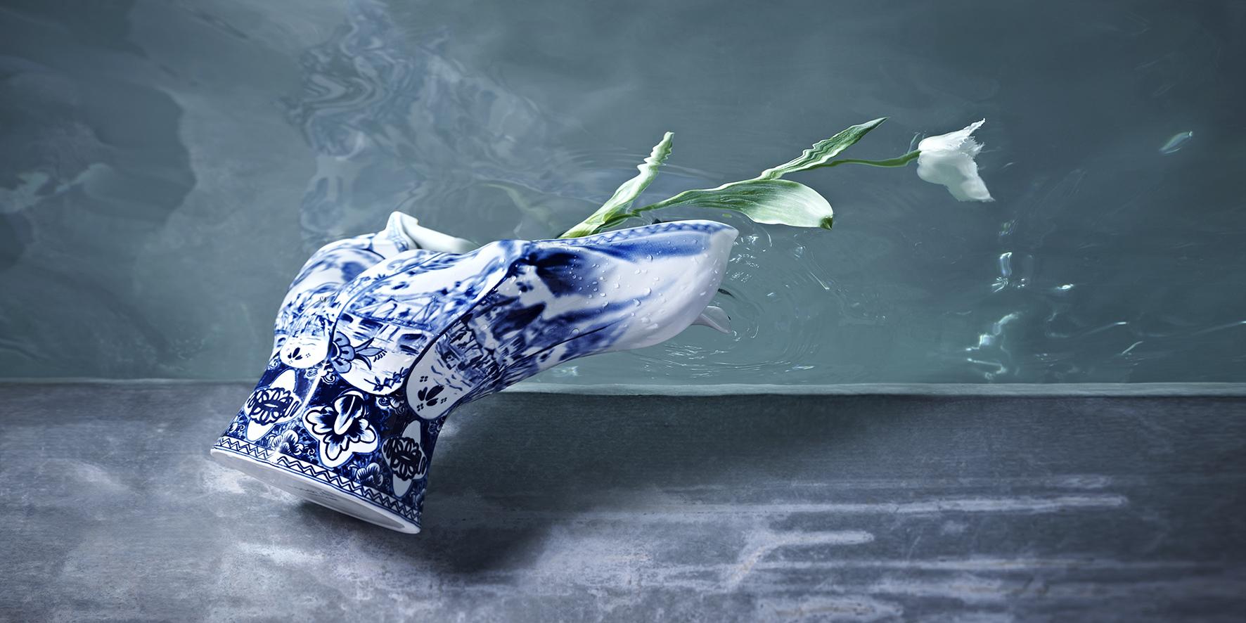 Arjan Benning Blow away vase