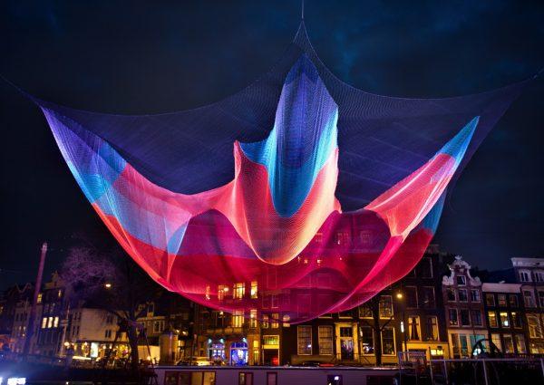 Amsterdam Light Festival verlicht de grachtengordel met kunst