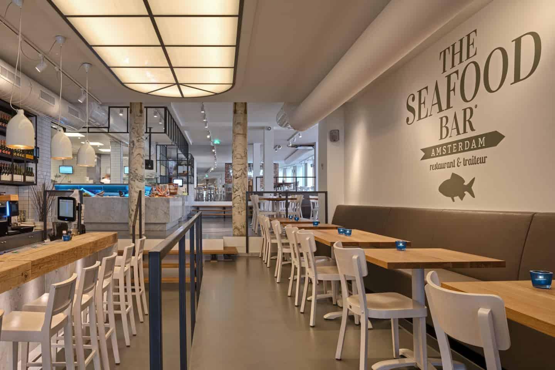 estida seafoodbar amsterdam tafels en bar