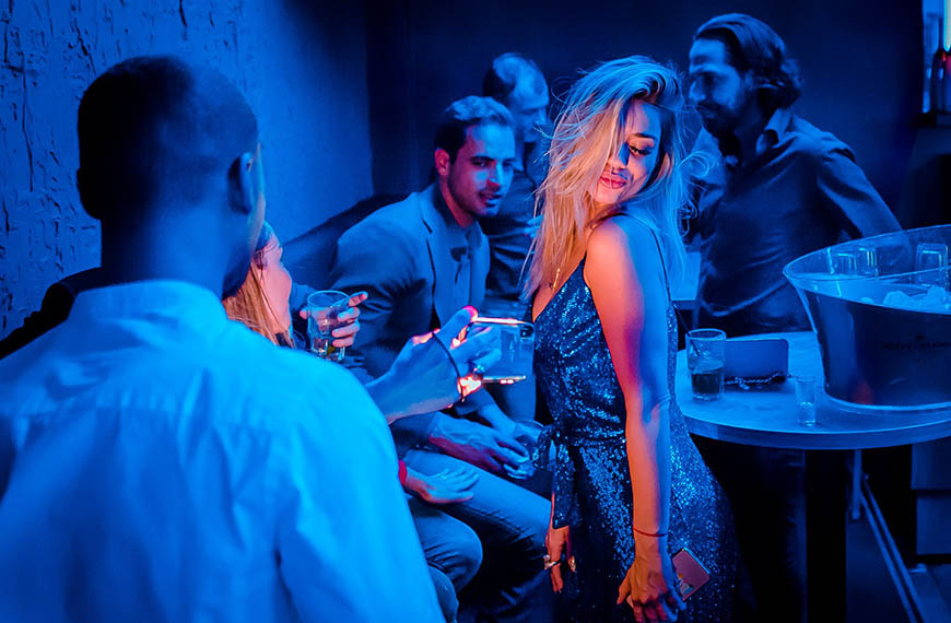 Luxe urbanclub Blue Ivy gericht op dansend publiek
