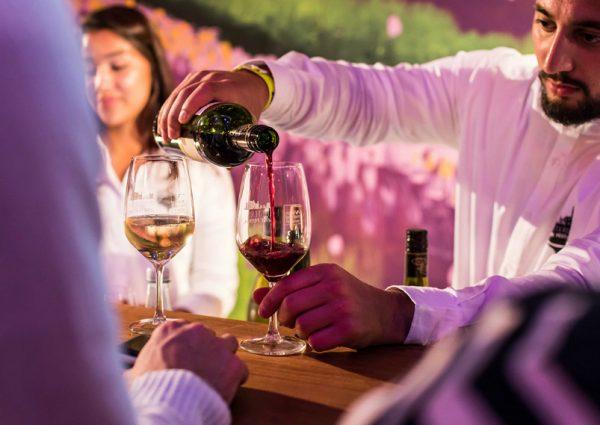 Het Bacchus Wijnfestival in het Amsterdamse Bos