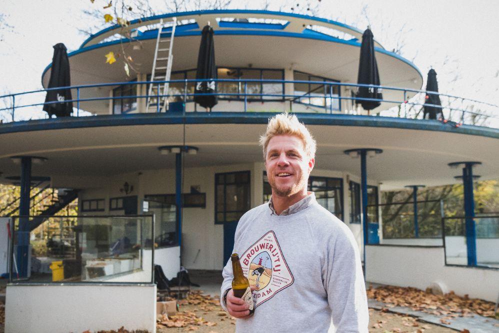 Brouwerij 't IJ neemt 't Blauwe Theehuis over