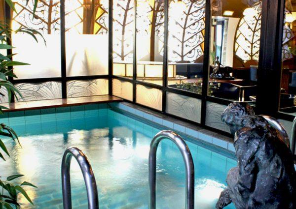 Sauna Deco is chic ontspannen in Parijse allure