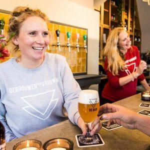 Gebrouwen door Vrouwen de Bar