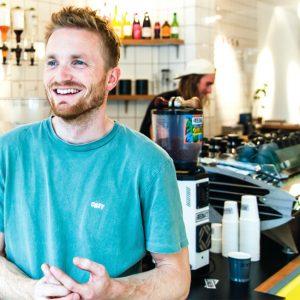 Voor écht goede koffie ga je naar Friedhats FUKU Cafe