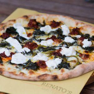Authentieke Italiaanse pizza eet je bij Renato's Pizzeria