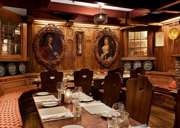 Restaurant d'Vijff Vlieghen: dineren tussen authentieke werken van Rembrandt