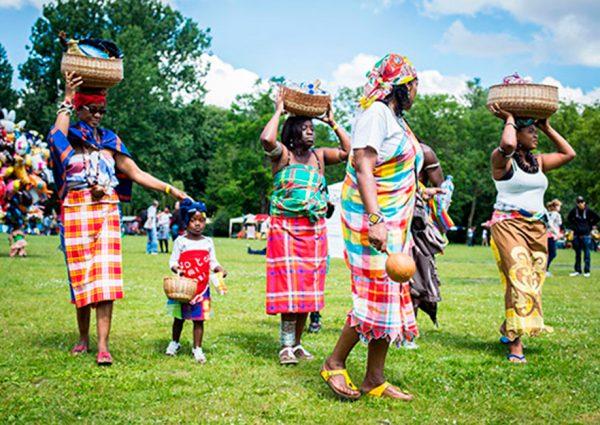 Keti Koti Festival in het Oosterpark
