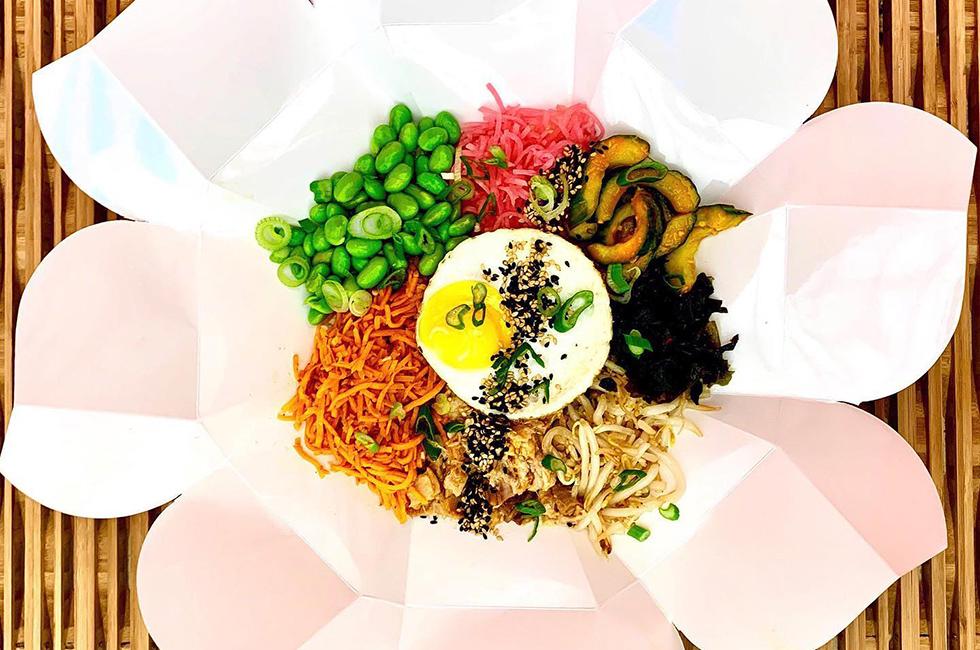 De lekkerste Koreaanse Bibimbab bowls vind je bij Kim Chi Wow