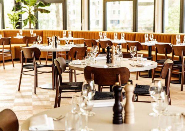 Restaurant Gijsbrecht: natuur midden in de stad