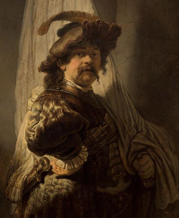 Vaandeldrager_Rembrandt1