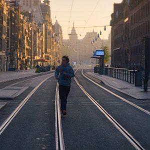 VIDEO: Amsterdam zonder mensen, leeg en zeldzaam mooi