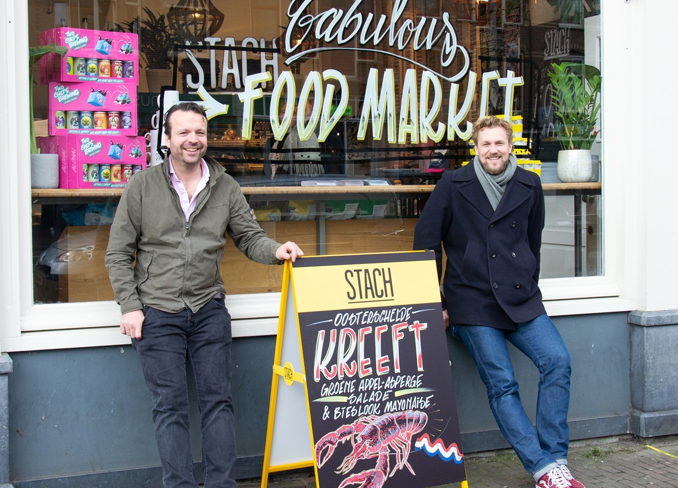 STACH Fabulous Food Market, markt voor luxe versproducten
