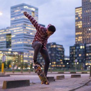 Grootste skatepark van Nederland op Zeeburgereiland