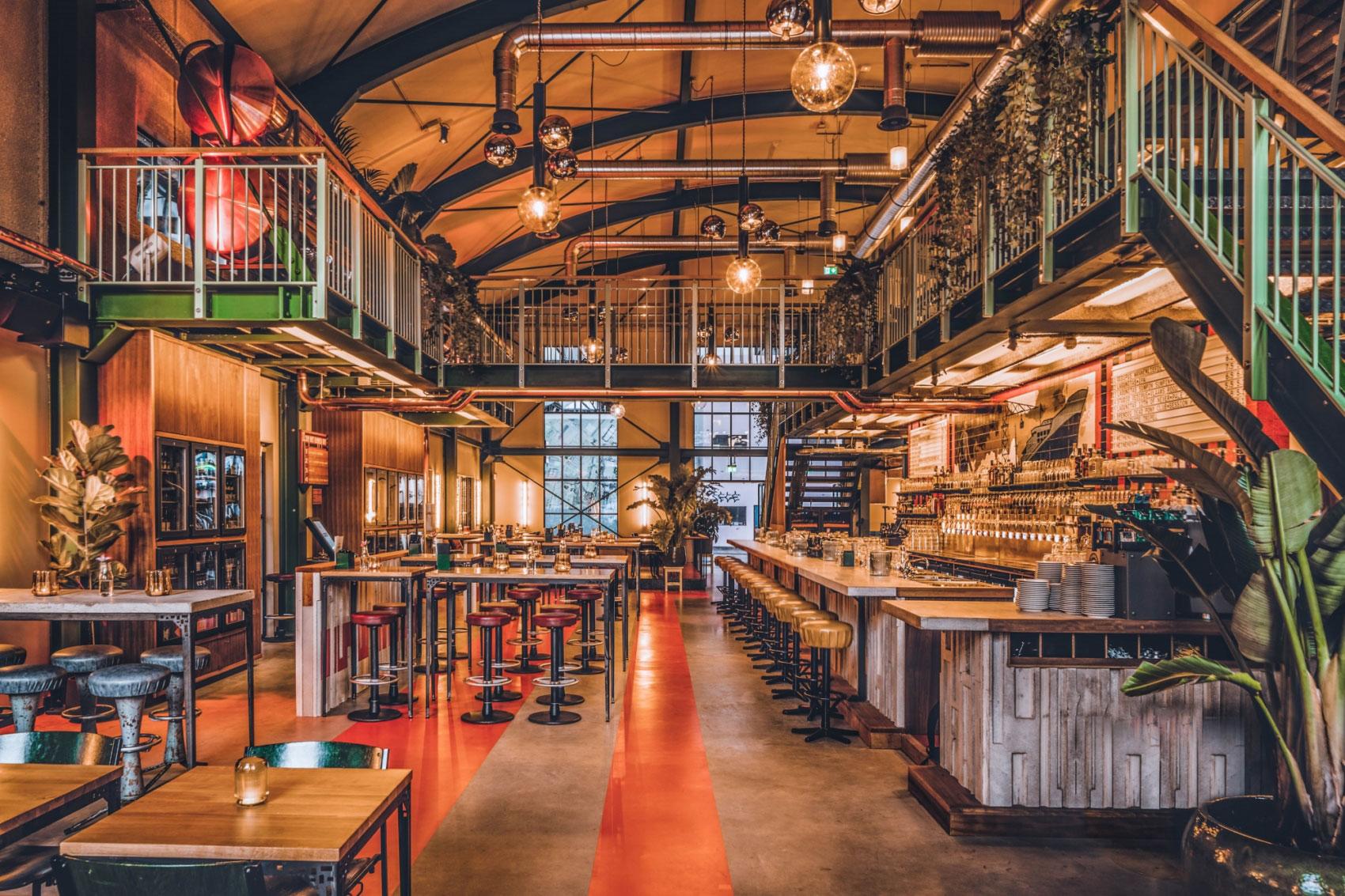 Bierrestaurant IJver opent in de Scheepsbouwloods