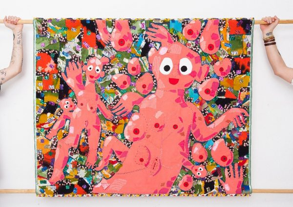 Bas Kosters, wandkleden en tekeningen in OSCAM