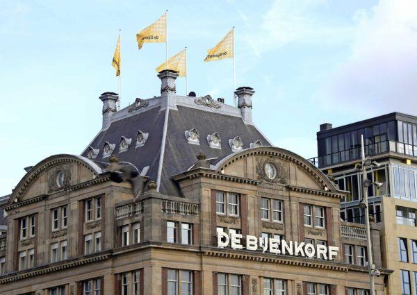De Bijenkorf is het meest luxe warenhuis van Amsterdam