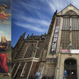 Gazing Ball van Jeff Koons in Nieuwe Kerk