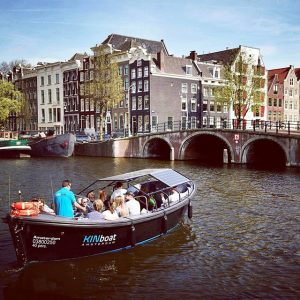 Small Boat Tour – Departure Leidseplein